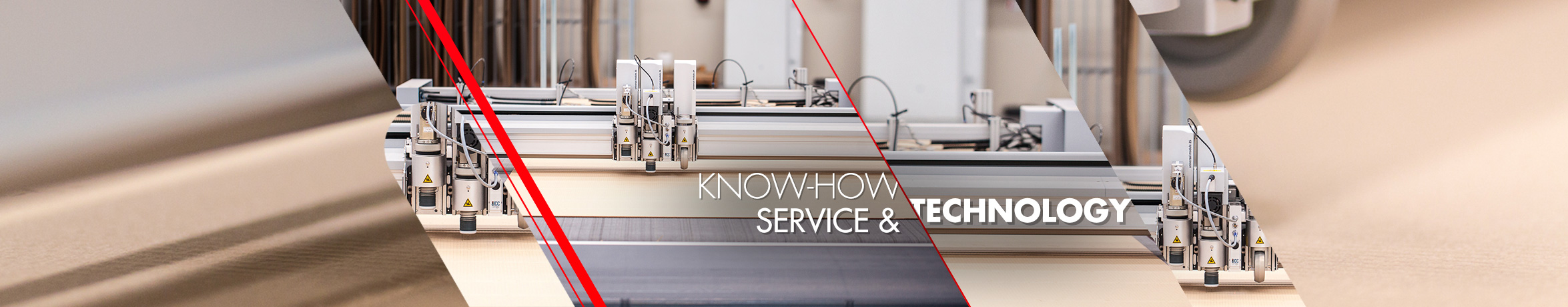 Know-how, service and technology