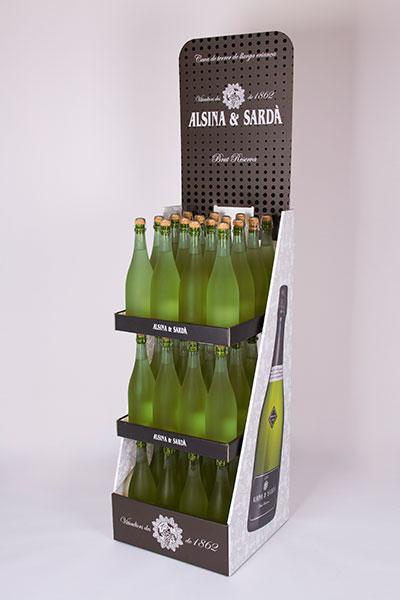 Expositor gran formato para Alsina&Sarda